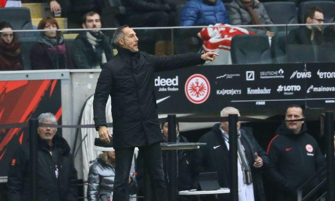 Trainer Adi Huetter Eintracht Frankfurt 02 02 2019 Eintracht Frankfurt vs Borussia Dortmund C