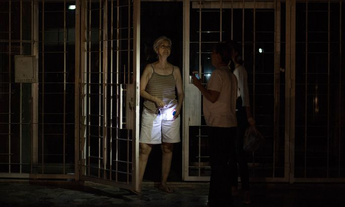 Stromausfälle in Venezuela