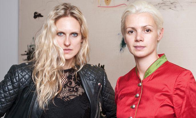 Chefetage. Vita Zaman (l.) und Christina Steinbrecher-Pfandt leiten die Viennafair.