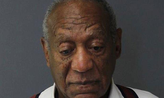 Polizeifoto von Bill Cosby