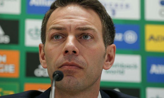 Christoph Peschek bezifferte den möglichen Schaden für Rapid bis Ende Juni auf bis zu sechs Millionen Euro.