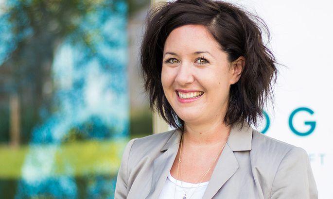 Geschäftsführerin Julia Ganglbauer.