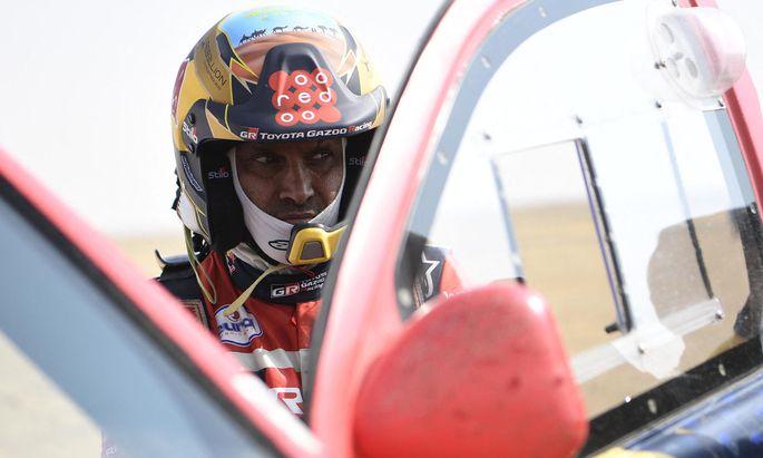 Nasser Al-Attiyah liebt auch das Tempo-Abenteuer: 2021 fuhr er bei der legendären Rallye Dakar im Toyota auf den zweiten Platz.