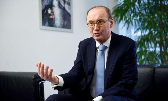 Der Vizepräsident des EU-Parlaments, Othmar Karas (ÖVP)