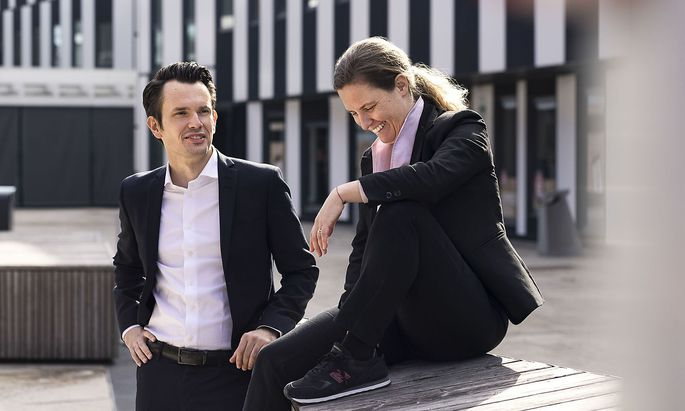 Christoph Krönke (WU Wien) und Sophie Martinetz (Future-Law)