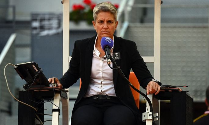 Premiere für Marija Cicak: Auch Wimbledon erhält nun eine Frau als Schiedsrichterin eines Männer-Finales.