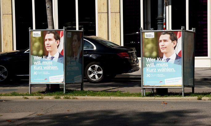 Symbolbild: ÖVP-Wahlplakate