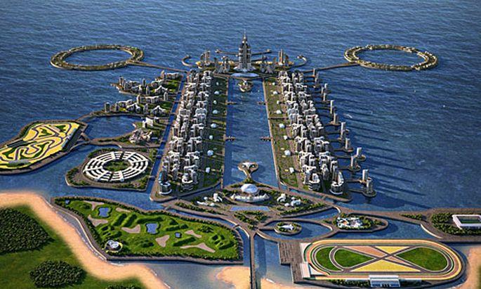 Aserbaidschan plant das höchste Gebäude der Welt.