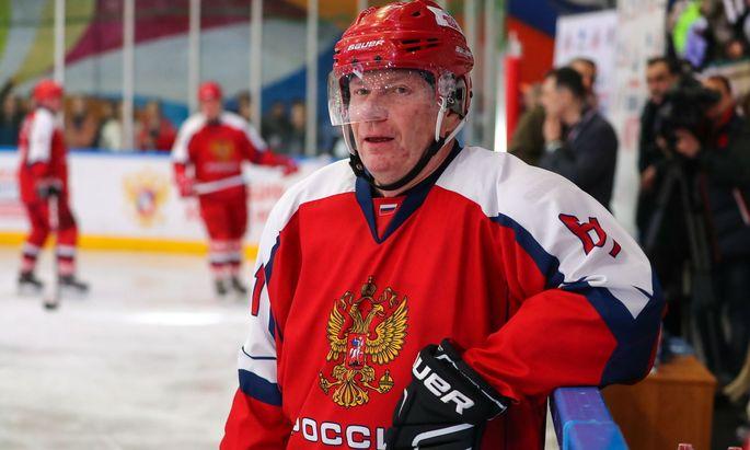 Reichster Russe und deklarierter Eishockey-Liebhaber: Wladimir Potanin