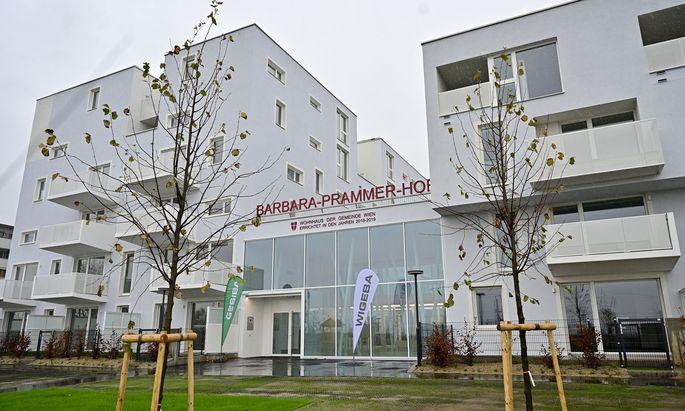 Barbara Prammer Hof in Wien-Favoriten