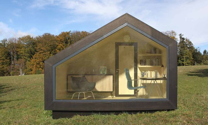 Wooden Tent Office