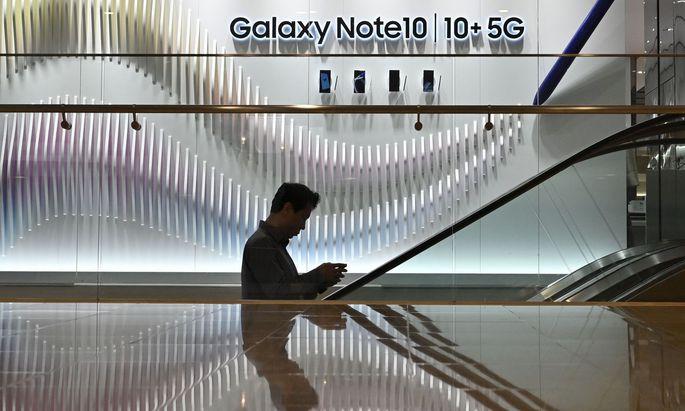 Speicherchips zu günstig - Samsung muss Gewinneinbruch verzeichnen