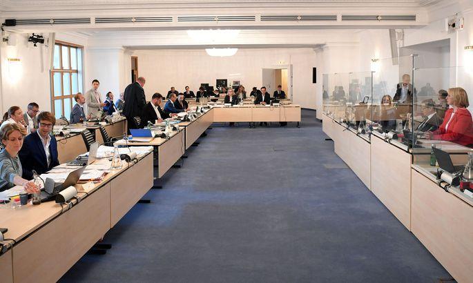 Ibiza-U-Ausschuss: Sitzungssaal.