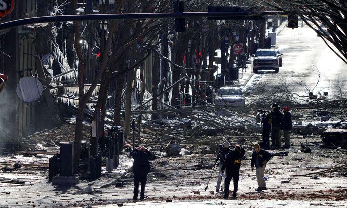 Nach der Explosion in Nashville