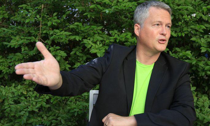 Der Klubchef der Wiener Grünen, David Ellensohn