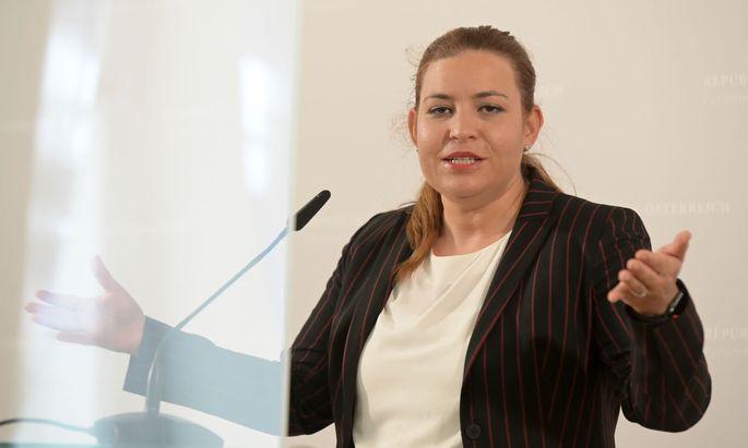 Nina Tomaselli, Fraktionsführerin der Grünen im U-Ausschuss