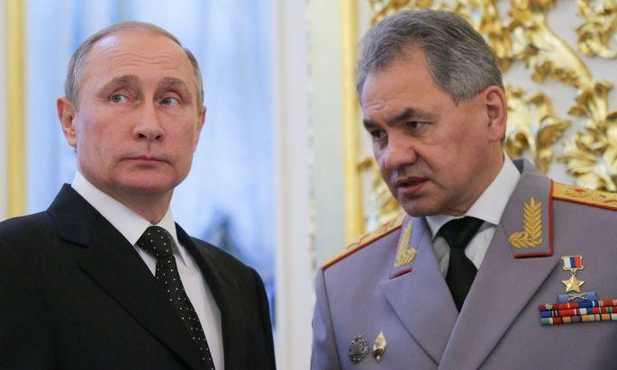 Putin, Schoigu