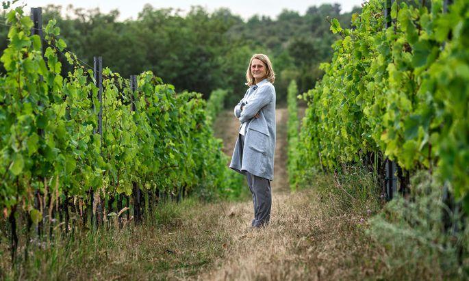 Dorli Muhr ist Unternehmerin und Winzerin.