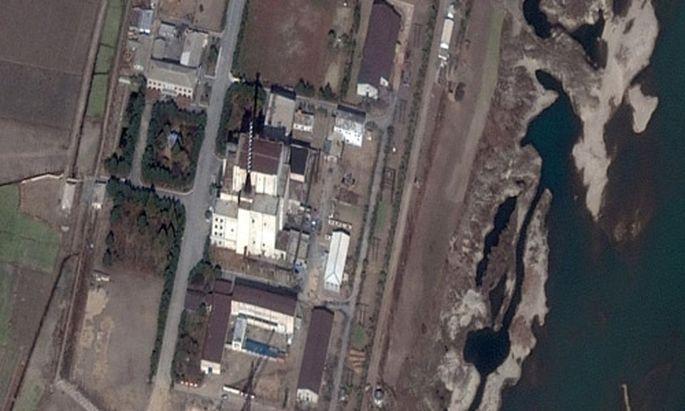 Nordkorea Neue Atomanlage enthuellt