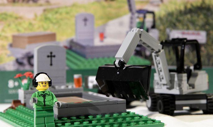 """Das """"Friedhof""""-Set aus Lego"""