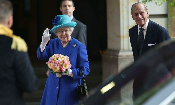 Queen Elisabeth II. und Prinz Philip sind geimpft worden
