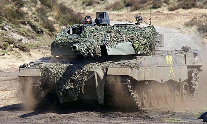 Symbolbild: deutscher Leopard-Panzer