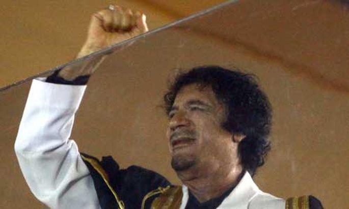 Italien verteidigt Gaddafis MilliardenForderung