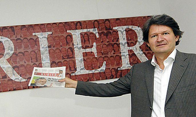 Archivbild: Kurier-Chefredakteur Helmut Brandstätter.