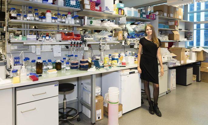 Neben ihrer eigenen Forschung verwaltet Astrid Hagelkrüys eines der berühmtesten Laboratorien in Österreich - das von Josef Penninger am IMBA.