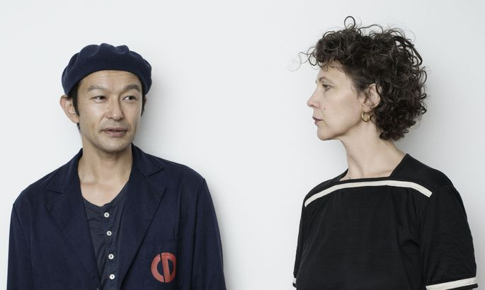 Die Rosa-Mosa-Gründer Yuji Mizobuchi und Simone Springer.Porträt