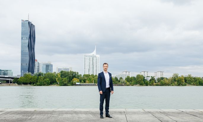 """Gernot Blümel, zerrissen zwischen Bund und Wien: Für eine Koalition mit Michael Ludwigs SPÖ im Rathaus verlangt er """"mehr Gestaltungswillen"""" des Bürgermeisters."""