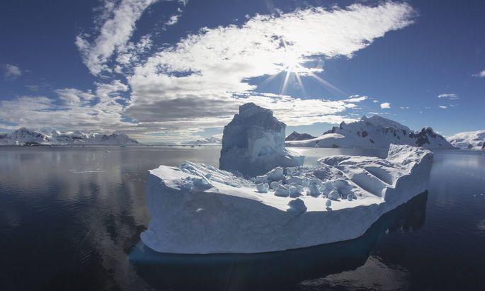 So warm war es in der Antarktis noch nie