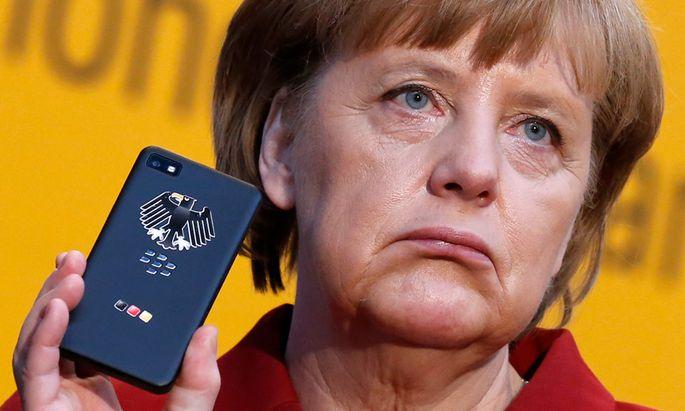 MerkelHandy abgehoert Berlin bestellt