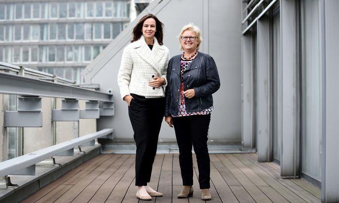 ÖVP-Familienministerin Sophie Karmasin und ÖVP-Frauenchefin Dorothea Schittenhelm