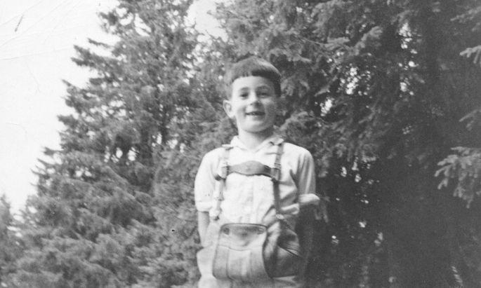 Der Autor auf der letzten verbliebenen Aufnahme seiner Kindertage. August 1972.