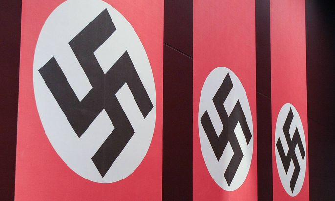 Möblierung einer Ausstellung über den Nationalsozialismus in Polen. (Symbolfoto)