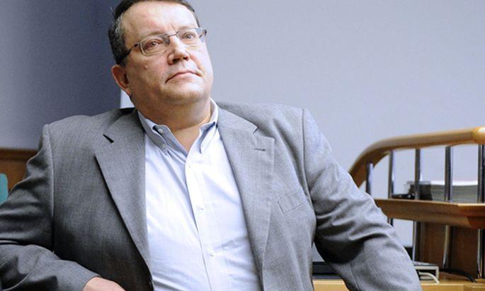 Der Prozess von Gottfried Küssel ist heute gestartet.