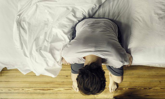 Der Ehemann stürzte in eine Depression (Symbolbild).