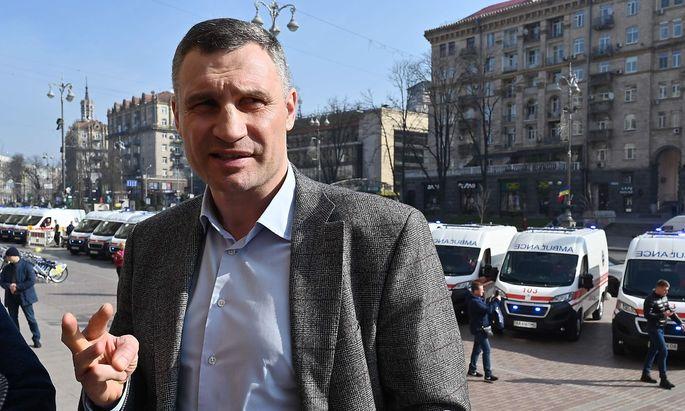 Archivbild. Vitali Klitschko hat gute Chancen, auch weiterhin Bürgermeister von Kiew bleiben.