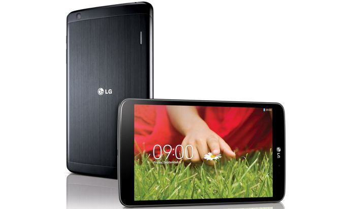 LGTablet laesst SmartphoneSMS lesen