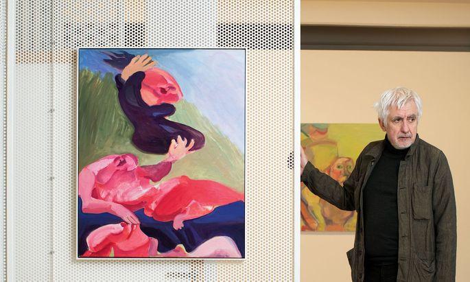 Maria Lassnig. Kunstmanager Peter Pakesch ist Vorsitzender der von der Künstlerin selbst noch zu Lebzeiten initiierten und konzipierten Stiftung.