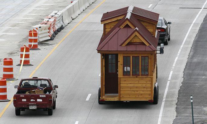 Archivbild: Ein Tiny House auf Reisen in den USA