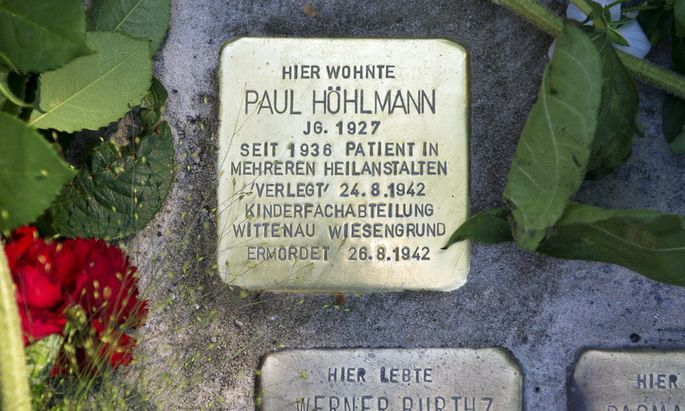 Graz Stolpersteine erinnern NSOpfer