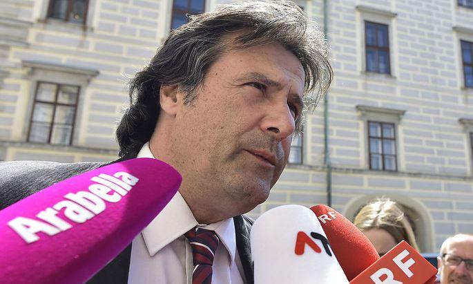 Der Tiroler SPÖ-Landesparteivorsitzende Ingo Mayr