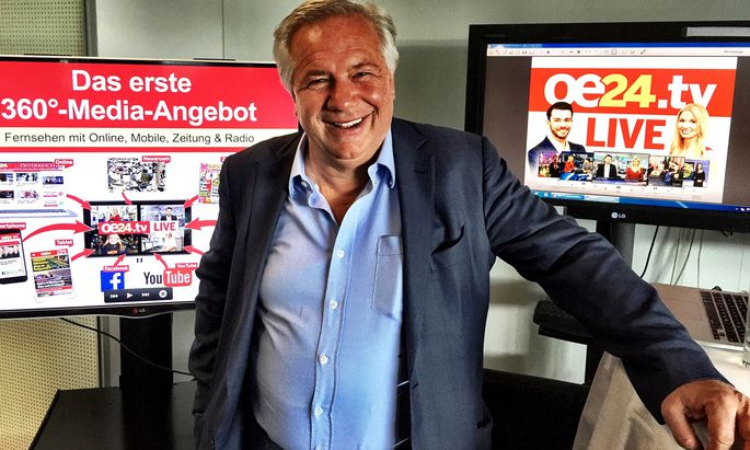 """Medienunternehmer Wolfgang Fellner will """"noch vor dem Sommer"""" sein bundesweites Radioprogramm starten."""