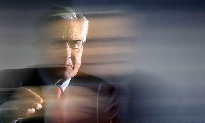 Archivbild: EZB-Präsident Jean-Claude Trichet im Jahr 2010