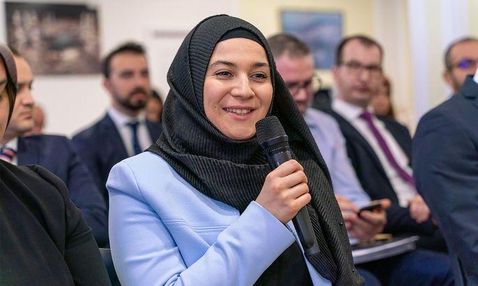 Als Leiterin des Referats für Gleichbehandlung und Frauenförderung wünscht sich Elif Dagli einen innermuslimischen Diskurs.