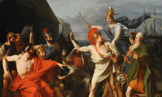 Griechen und Römer sahen sich nicht als ´weiß´ - aber das spielt im heutigen Kulturkampf keine Rolle.