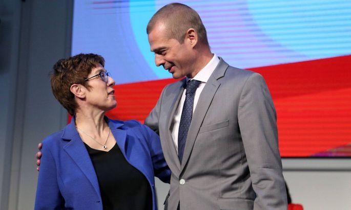 Zwei Rücktritte: Mike Mohring und Annegret Kramp Karrenbauer