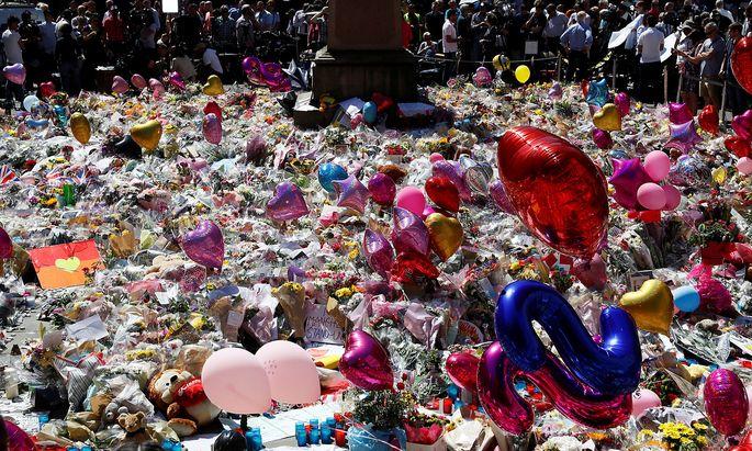 Gedenken an die Opfer.